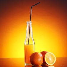 Free Fresh Orange Drink Stock Photo - 24069690