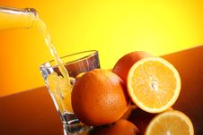 Free Fresh Orange Drink Stock Photo - 24069700