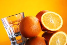 Free Fresh Orange Drink Royalty Free Stock Photography - 24069707