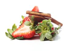 Free Fresh Strawberry Royalty Free Stock Image - 24069726