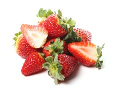 Free Fresh Strawberry Royalty Free Stock Photos - 24069728