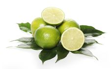 Free Fresh Limes Stock Photo - 24069750