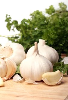 Healthy Vegetables On The Table Stock Photography
