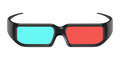 Free 3D Cinema Glasses Royalty Free Stock Photo - 24072195