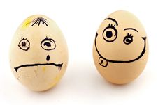 Free Eggs Royalty Free Stock Image - 24072256