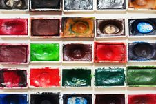 Free Watercolor Paint Cups Stock Photos - 24072733