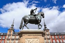 Free Plaza Mayor - Madrid Royalty Free Stock Photo - 24072935