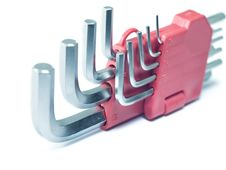 Free Hex Keys Stock Image - 24073031