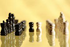 Free Chess Game Royalty Free Stock Photos - 24074148