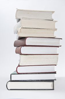 Free Stack Of Books Royalty Free Stock Photos - 24075678