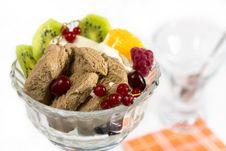 Free Ice Cream And Frkuty Stock Photos - 24078173