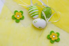 Free Easter Eggs Royalty Free Stock Photography - 24079147
