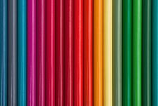 Free Colored Pencils In A Row Stock Photos - 24079363