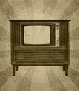 Free Vintage Television Royalty Free Stock Photography - 24084637