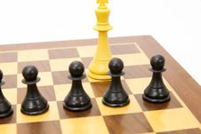 Free Chess Game Royalty Free Stock Photography - 24080587