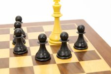 Free Chess Game Royalty Free Stock Image - 24080626