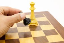 Free Chess Game Stock Photography - 24080662