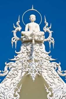 Free Buddha On Top Of White Chruch Stock Photos - 24084023