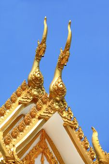Free Temple Roof Royalty Free Stock Photography - 24088777