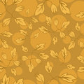 Free Hand-drawn Patterrn. Autumn Leaves. Stock Photos - 24092543