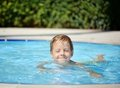 Free Pleasure In The Pool Royalty Free Stock Photography - 24099047