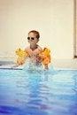 Free Pleasure In The Pool Stock Image - 24099071