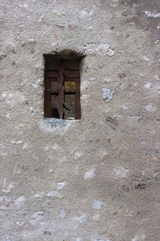 Free Small Window At Village In Grenoble. Royalty Free Stock Photo - 24095565