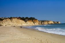 Free Beautiful Algarve Beach Stock Photos - 24099603