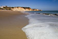 Free Beautiful Algarve Beach Stock Photos - 24099633