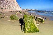 Free Beautiful Algarve Beach Royalty Free Stock Photos - 24099898