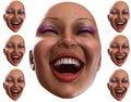 Free Happy Female Heads 5 Royalty Free Stock Photos - 2412148