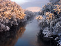 Free The River In The Winter Stock Photo - 2418510