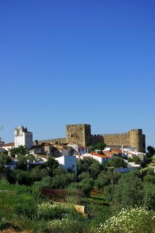 Free Castle Of Terena Village Stock Photo - 2410040