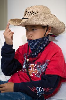 Free Little Cowboy Stock Images - 2410214