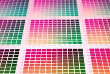 Free Color Chart Stock Image - 2410361