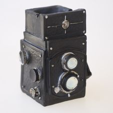 Free Vintage Iconic Camera Stock Photography - 2410522