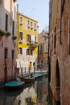 Free Venice Channel Stock Photography - 2411832
