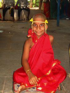 Free Happy Monk Royalty Free Stock Photos - 2412108