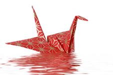 Free Oragami Peace Bird Royalty Free Stock Image - 2412636