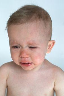 Free Crying Baby Stock Image - 2412731