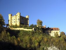 Free Royal Castle Hohenschwangau Stock Photos - 2413183