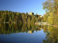 Free Royal Castle Hohenschwangau Stock Photo - 2413210