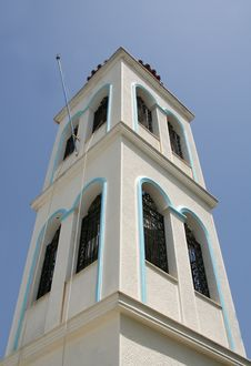 Free Greek Church Tower Stock Photos - 2413443