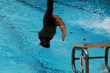 Free Swimming Competition Stock Photography - 2415622