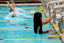 Free Swimming Competition Stock Photography - 2415662