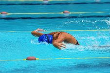 Free Swimming Competition Stock Photo - 2415790