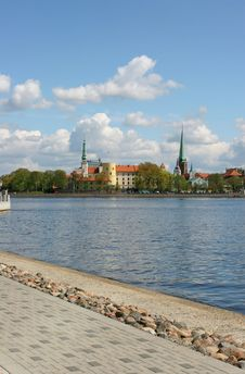 Free Daugava Riverbank Stock Images - 2416934