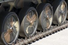 Free Tank Wheels Stock Photos - 2419363
