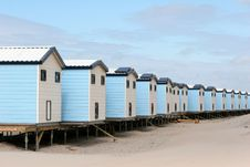 Free Beach Houses Royalty Free Stock Photo - 2419855