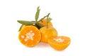 Free Orange Fruit Slice Royalty Free Stock Photography - 24100127